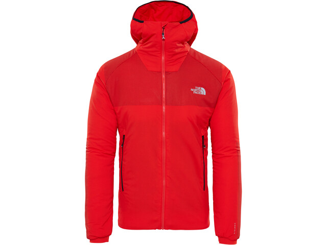 The North Face Summit L3 Ventrix Hoodie Herre fiery red